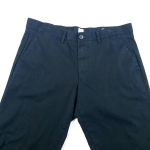 Gap Straight Stretch Chinos Black Size 33 x 32